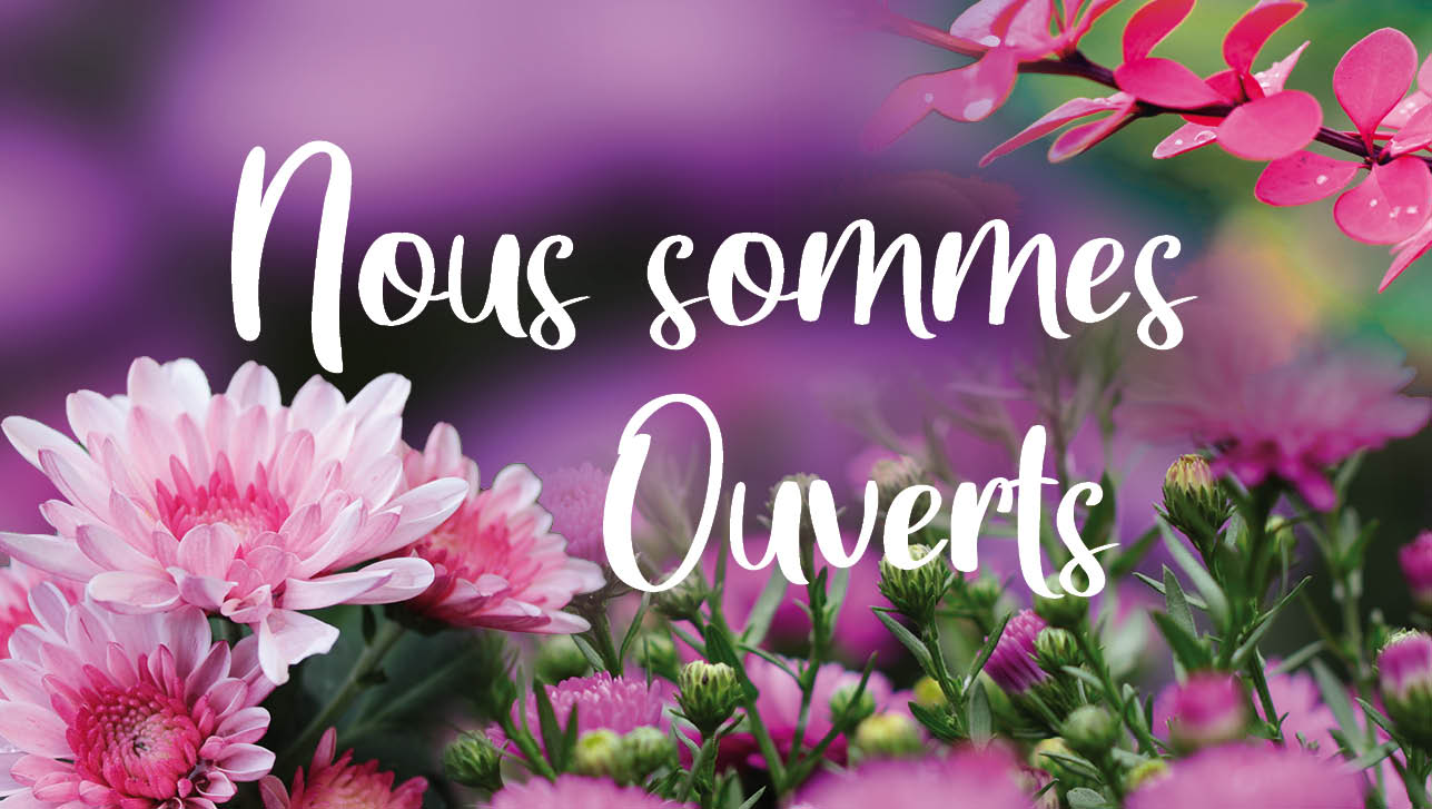 Nous sommes ouverts (HORTI)